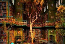 Fantasy Bookshop / Here's how a perfect bookshop would look like to us...