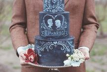 Cake Art / Beautiful cakes that take a lot of time to construct and decorate! Plus some tips on making your own cakes. / by Rebecca Hoffman