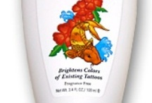 tattoos and makeup /   www.tatlotion.com TAT - Totally Awesome Tattoo Lotion / by Paula Levine