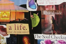 soul collages / {the soul speaks through images}