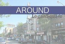 Around Logan Square / Take a look at interesting shots of Logan Square, Chicago. #logansquare #chicago