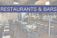 Restaurants & Bars of Logan Square / Looking to dine out or grab a drink? Eat and drink at one of these Logan Square establishments. #logansquare #chicago #food