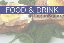 Food & Drink in Logan Square / Logan Square, Chicago, is a destination for foodies and food lovers alike. Check out the delish eats and drinks local restaurants and bars are serving up. #logansquare #chicago