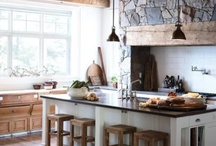 Rustic: Interior design / Rustic but chic interior design.