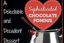 Fun with Fondue Month / According to the folks at CDKitchen, November is...National Fun with Fondue Month!