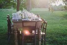 Save Us a Seat / A large event or picnic for two, see some of our favorite dining experiences.