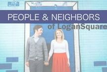 People + Neighbors of Logan Square / People and neighbors of Logan Square, Chicago.