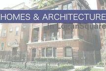 Homes & Architecture in Logan Square / Logan Square, Chicago, is filled with rich architecture and creative interior design. #logansquare #chicago