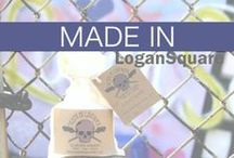 Made in Logan Square / Check out these products made in Logan Square, Chicago. Buy and support local. #logansquare