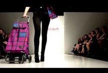 SHOPPING TROLLEY e SHOPPING BAG / shopping trolley........la spesa ora si fa glamour