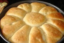 Bread, Biscuits, Muffins & Rolls / Pass the butter please! / by suza wag