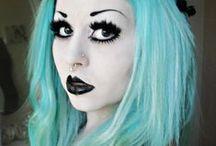 Gothic Make-up / Entdeckt hier die schönsten und ausgefallensten Gothic Make-ups!