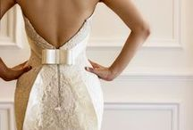 Wedding Style / Wedding gowns, bridesmaids dresses, suits, and hair, oh my!