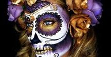 Halloween Make-up / Findet hier schaurig-schöne Inspirationen für euer Halloween Make-up!