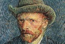 """VINCENT van GOGH / """"There is nothing more truly artistic than to love people"""" --------------""""What is done in love is done well"""""""
