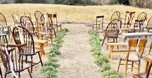 Rustic Wedding Theme / Details for a rustic-inspired wedding.