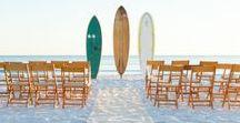 Beach Wedding Theme / Inspiration for beachside weddings.