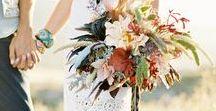 Boho Wedding Theme / Inspiration for a bohemian-themed wedding.