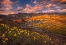 Oregon - Eastern Oregon / E. Oregon.   Wallawa Lake, Joseph, Enterprise, Hell's Canyon, LaGrande, Union, Baker, Oregon trail, Oregon trail museum, The Steens,