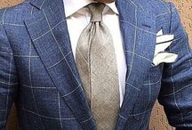 Gentleman / Sharply dressed gentleman fashion