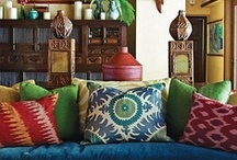 My kinda style. Eclecticbohemianmaximalism. / by Fiona Martin