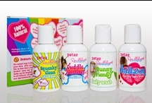 Sparklehearts Line  / Our line of 100% all-natural bath and body products for girls.