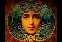 Art Nouveau / Art Nouveau / by Eva Miller of KapKaDesign