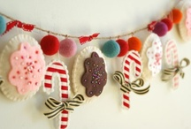 christmas felt craft / by Angela Phillips