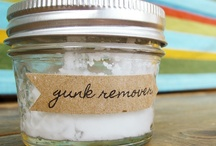 For the Home~Homemade Cleaners