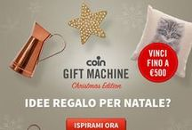 Coin Christmas Guide / Le nostre idee per il Natale / by Coin