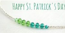 Irish Wedding / Happy St Patrick's Day! Coupon Code PIN10. Come visit my Jewelry shop and find something special for yourself or someone in your life :) https://www.etsy.com/shop/KapKaDesign