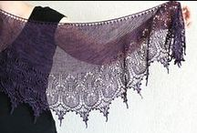 Crescent shawls