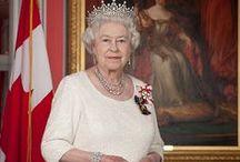 Royals-Queen Elizabeth ll / Elizabeth Alexandra Mary born 21 April 1926; Became Queen 6 February 1952 / by Becky Davis