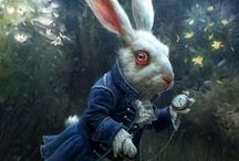 ♥ ♣ Follow the White Rabbit ♦ ♠ / ♣ All things Alice in Wonderland ♣ / by Jeanelle