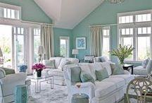 Beach House ~ Living Room / by Holly Ehlenfeldt Stockman
