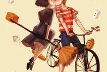 "Ghibli / ""Life is a winking light in the darkness."" - Hayao Miyazaki"