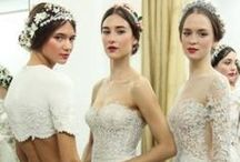 Wedding Dresses with Lace / wedding gowns adorned in beautiful lace  / by artist Lara Harris