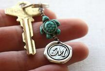 Personalized Gifts / Personalized Gifts, Initial Keychains, Monogram Keychains