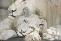 Schilderijen / paintings / Painted by Saskia van Dijk