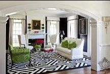 McLean, VA   Black & White / McLean, VA   Kellie Burke Interiors