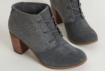Footwear / I strongly feel that shoes should not only serve as fashionable accessories, but also comfortable footings.