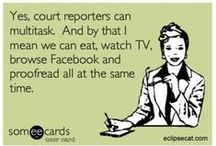 Court Reporting / by Crafty Court Reporter