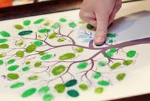 Hand paints inspiration