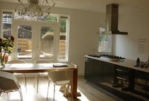 Een mooie aangebouwde keuken