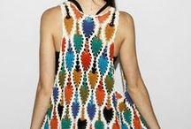 Crochet ~ Hats, Scarves, Shawls, & Other Wearables / DIY~ crocheted wearables / by Caroline Garcia