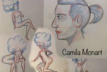 Camila Monart - Portfólio / Some of my work :D