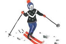 Olympics by Marie Assénat / Sochi-inspired drawings by Marie Assénat www.CWC-i.com
