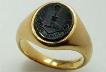 Signet & Intaglio Rings