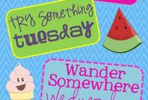 Summer Planning / things to do in the summer, summer schedules, summer themes, summer camp, mom camp,  / by Janetta Graham