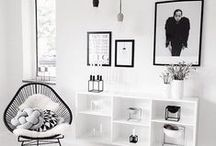 HOME - SCANDINAVIAN & MINIMALISM / WHITE, CLEAN AND RAW HOME DECOR